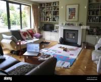 Messy Family Living Room