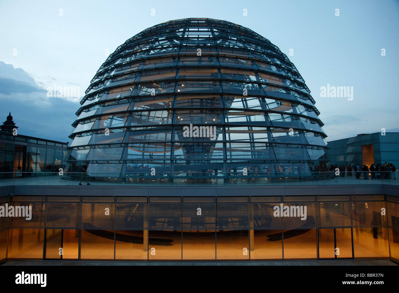 Norman Foster Germany Berlin Reichstag Glass Dome Cupola Norman Foster Architect