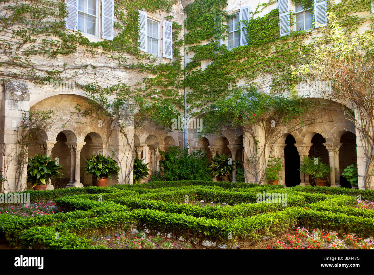 St Remy Van Gogh Asylum St Remy De Provence France Stock Photo