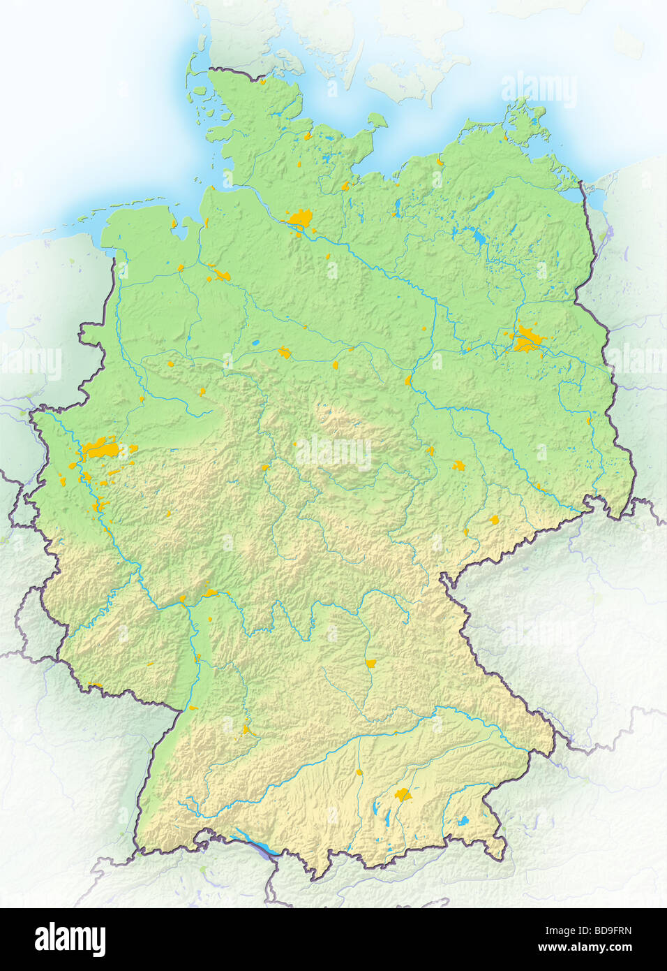 Karlsruhe Maps Germany Map Stock Photos Germany Map Stock Images Alamy