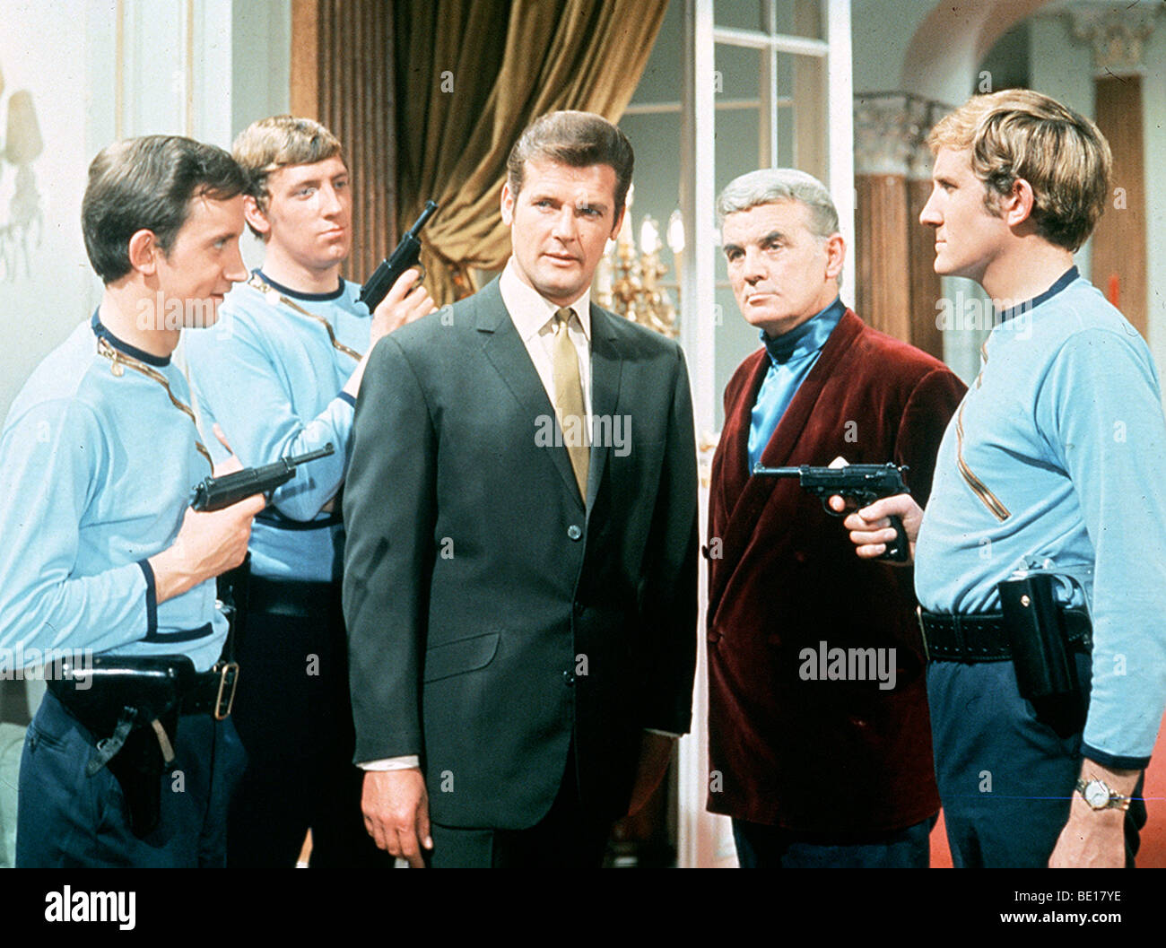 The Saint Uk Tv Series 1960 69 With Roger Moore As