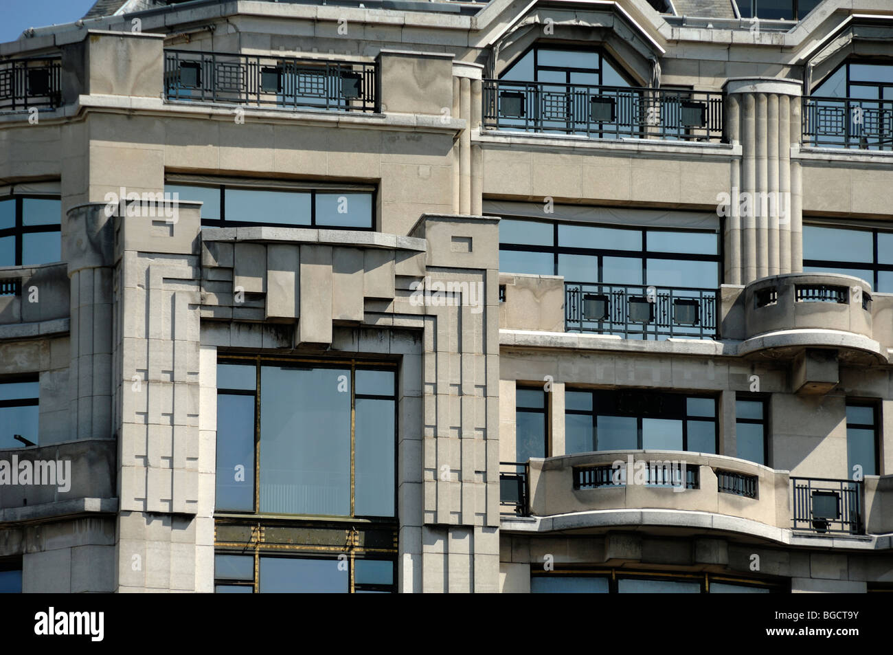 Arts Deco Paris Art Deco Balconies And Facade Of The La Samaritaine