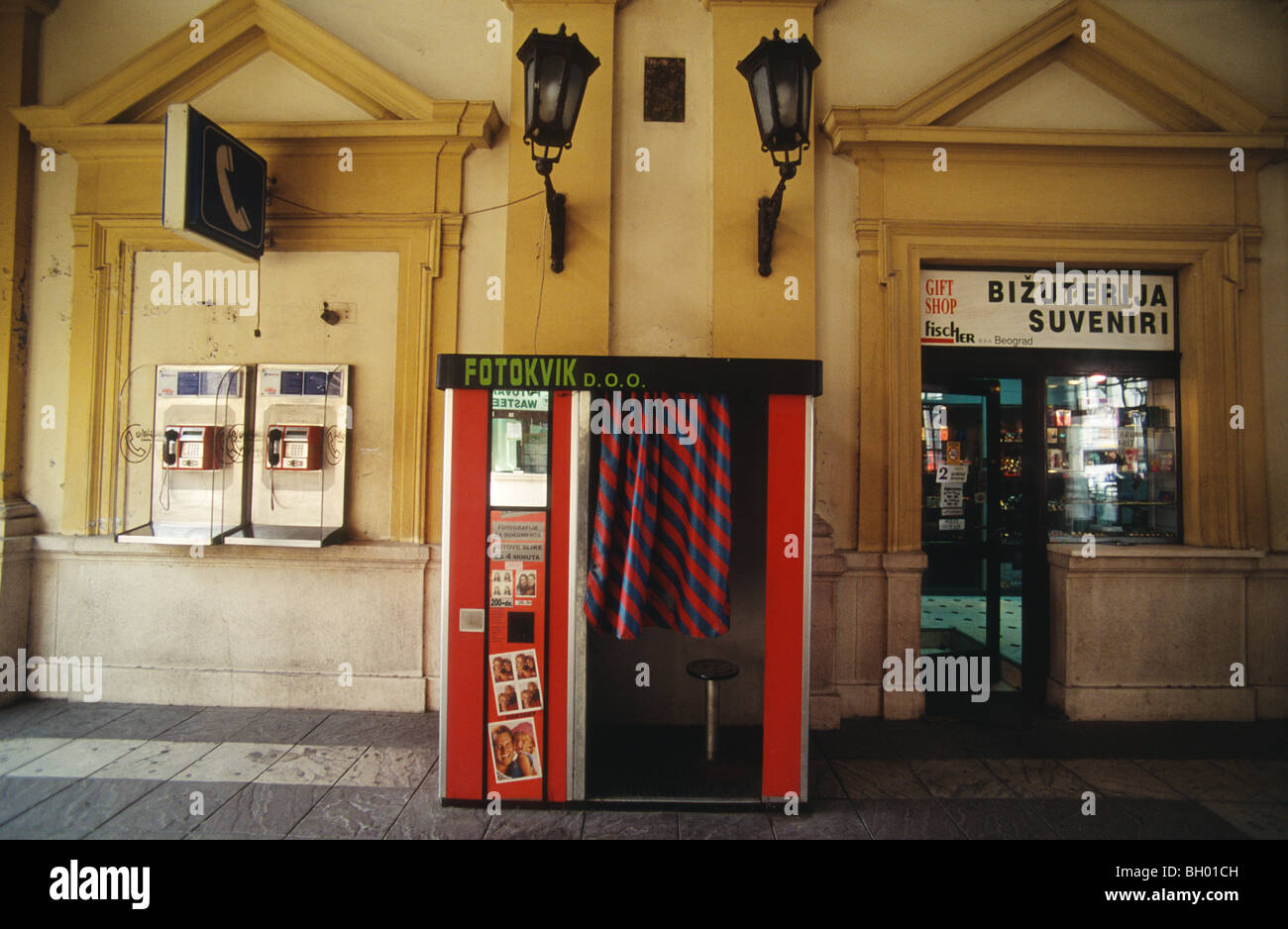 Photobooth Maison Serb Stock Photos Serb Stock Images Alamy