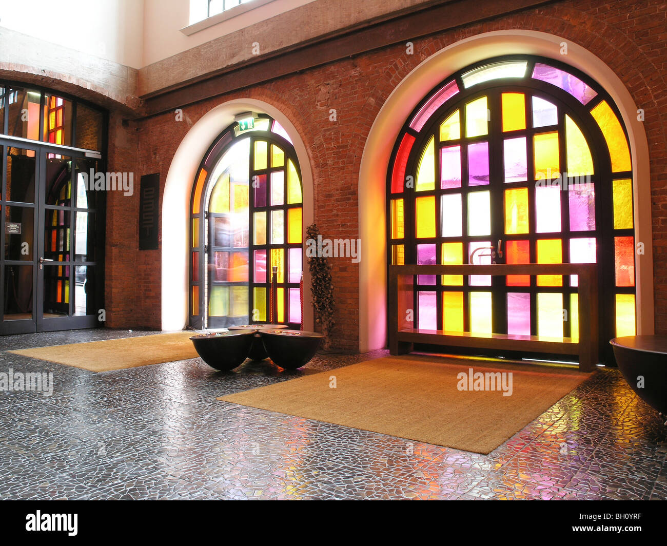 East Hotel Hamburg Entrance To The East Hotel, Hanseatic City Of Hamburg, Germany Stock Photo - Alamy