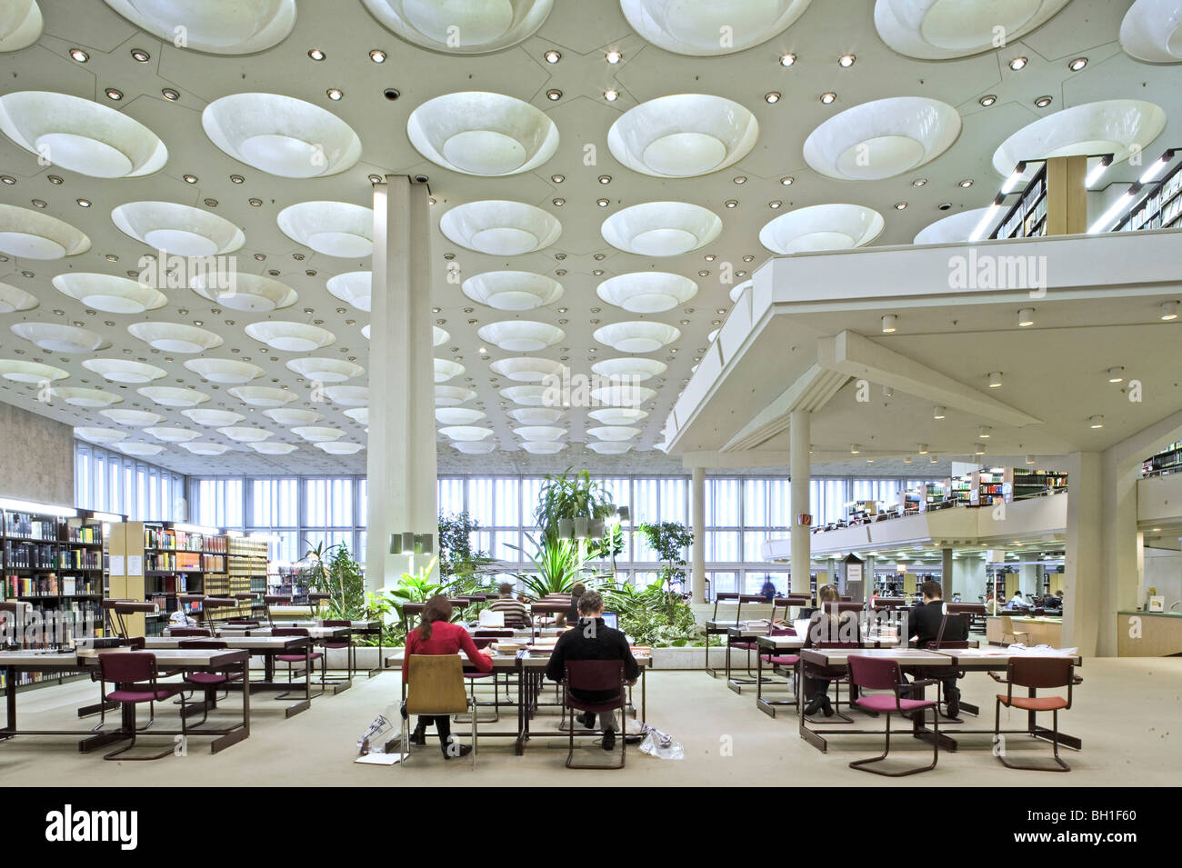 Interior Berlin Interior View Of The Berlin State Library Berlin Germany