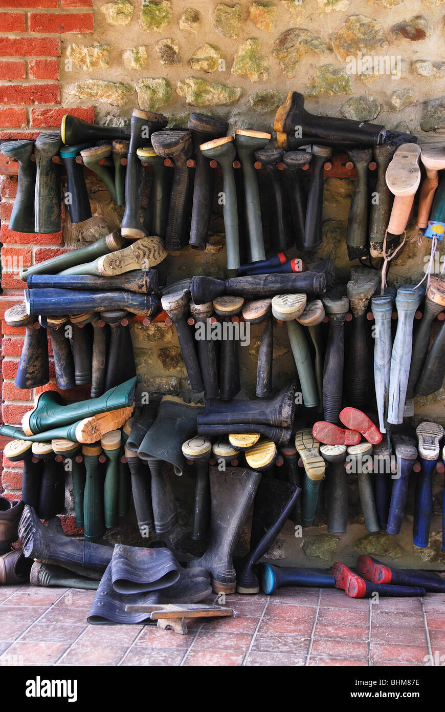 La Chambre Wellington Boots Not Tidy Stock Photos Not Tidy Stock Images Alamy