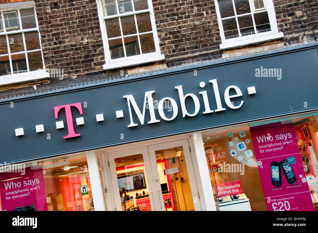 T Mobile Shop Amsterdam Amsterdam Tmobile Stock Photos Tmobile Stock Images Alamy