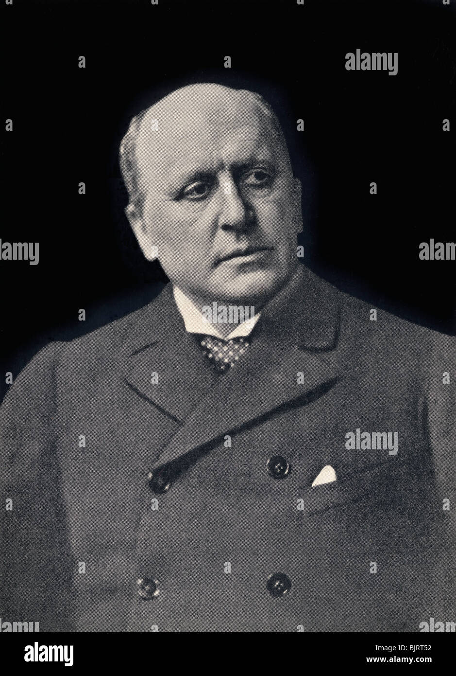 Henry James Henry James 1843 1916 American Born Author Stock Photo