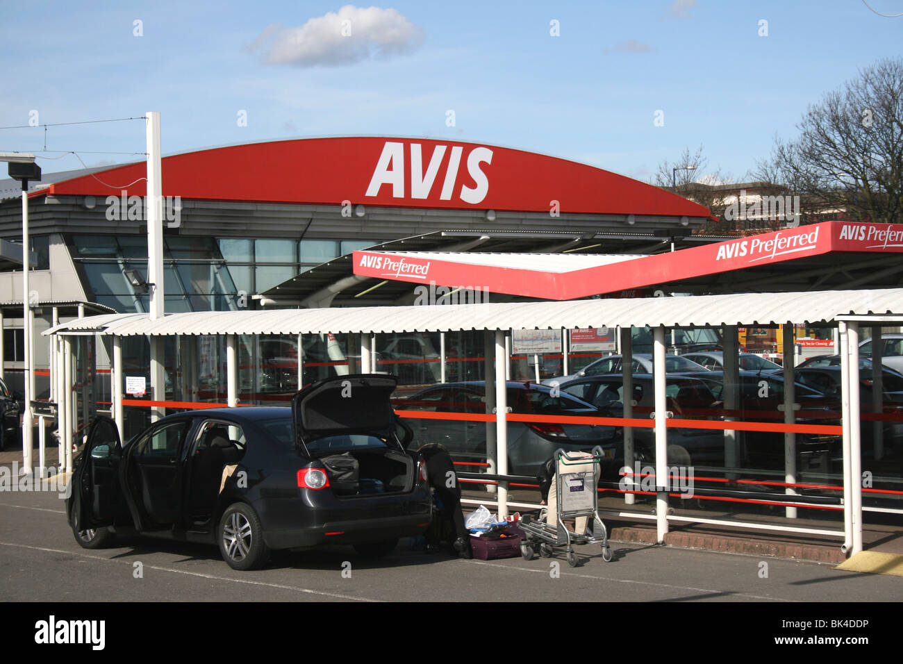 Avis Malaga Avis Hire Car Stock Photos Avis Hire Car Stock Images Alamy