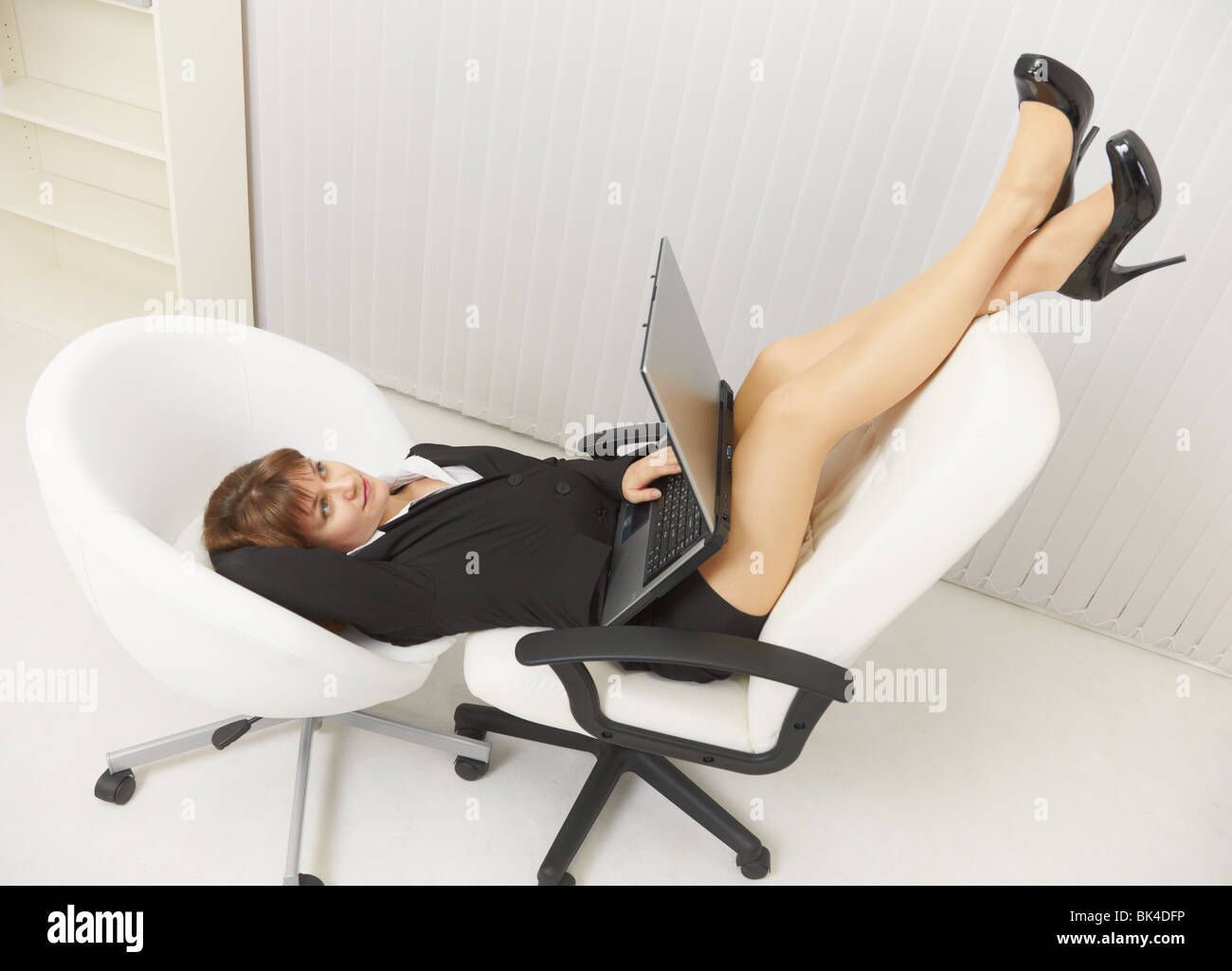 Legs Young Woman In Pantyhose Stock Photos Legs Young