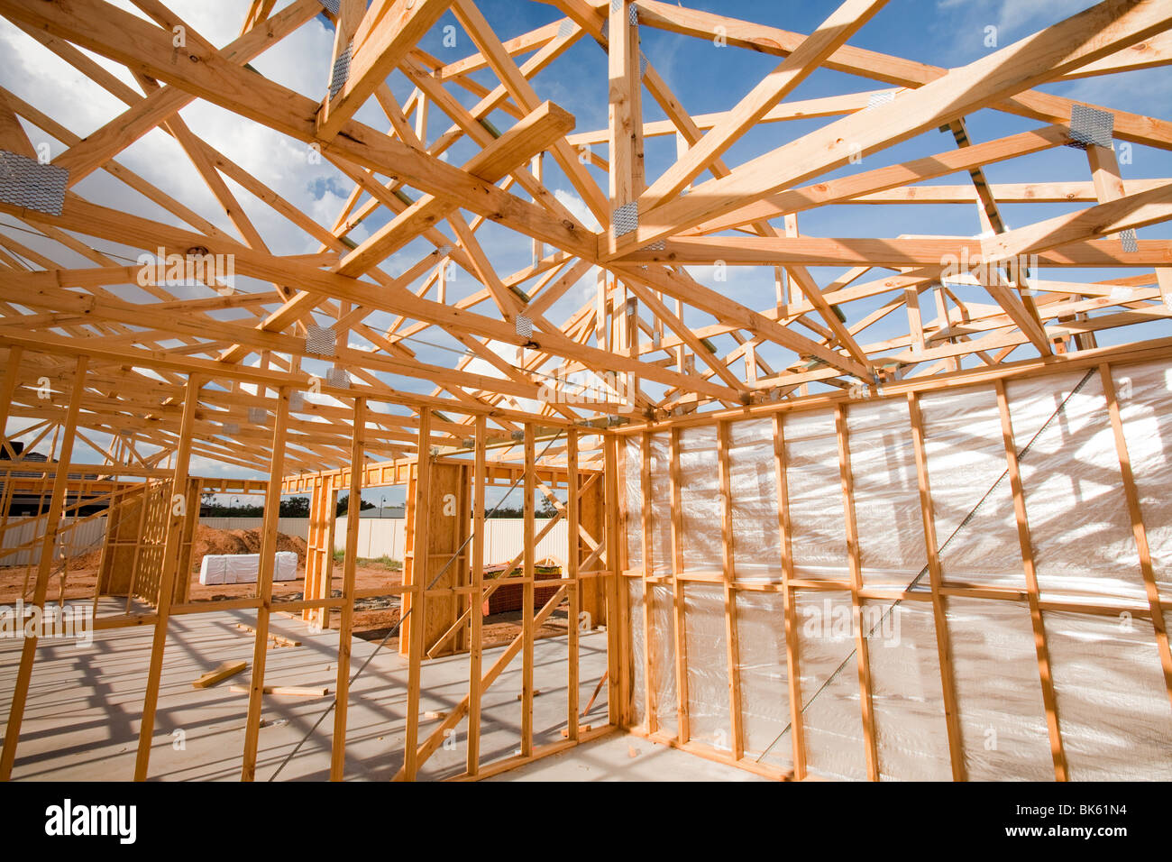 Timber Frames Australia Roof Spar Stock Photos And Roof Spar Stock Images Alamy