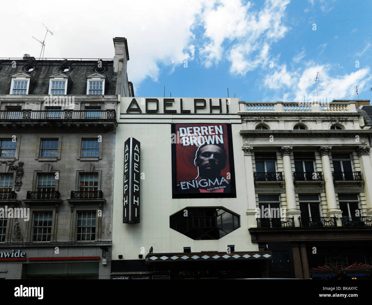 Poster Strand London England Strand Adelphi Theatre Poster Of Derren Brown