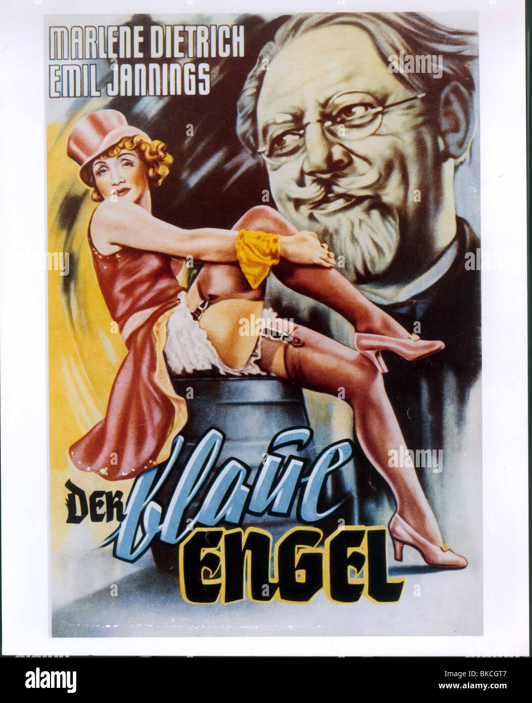 Blaue Engel The Blue Angel 1930 Der Blaue Engel Alt Poster Blan