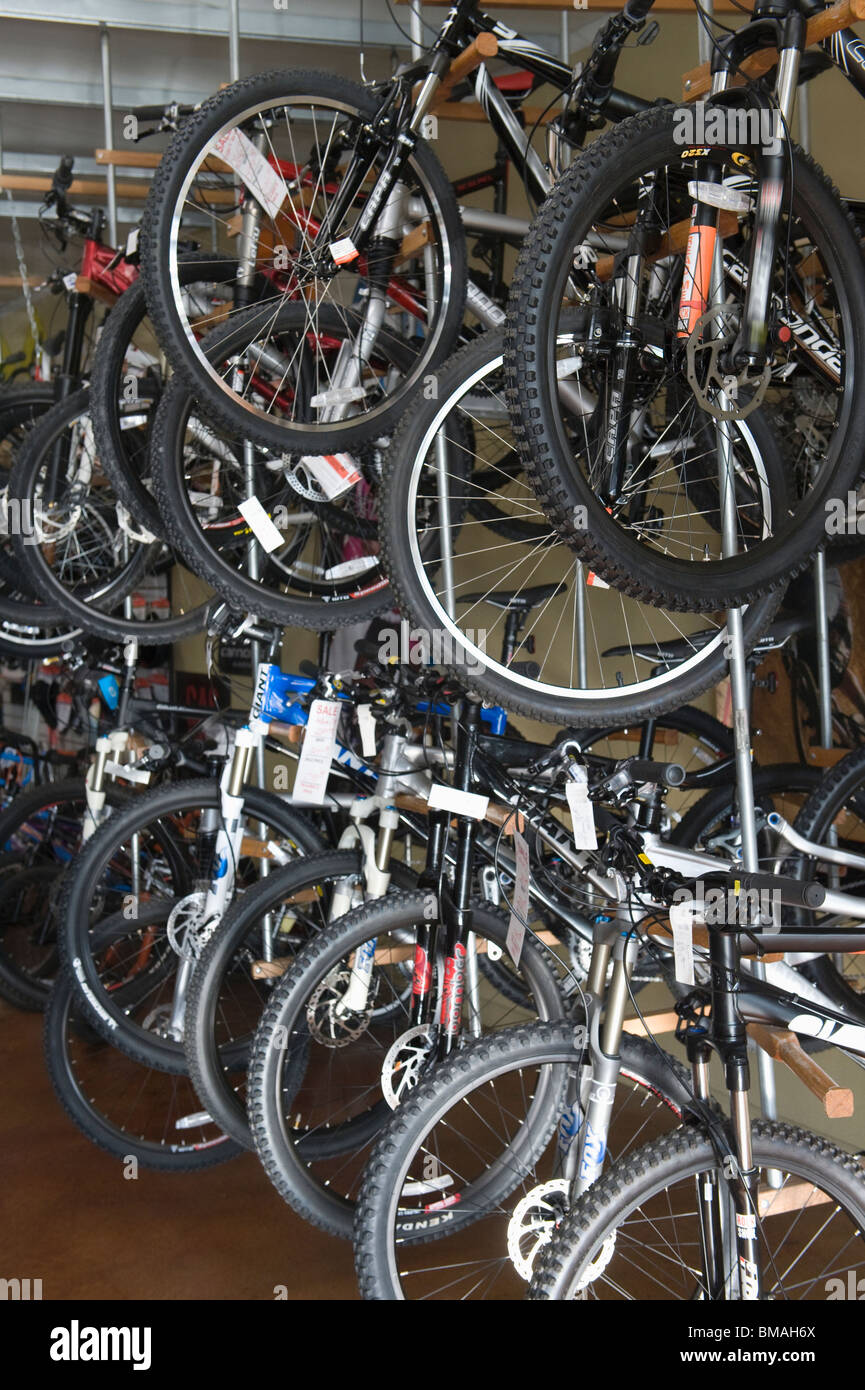 A Bike Store Bicycles On Display In A Bike Store Stock Photo 29736530 Alamy