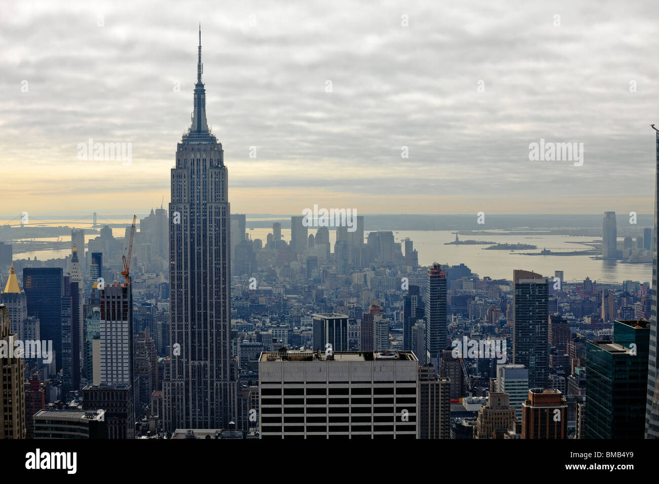 New York Bilder Beautiful Buildings In Manhattan New York Usa Stock Photo