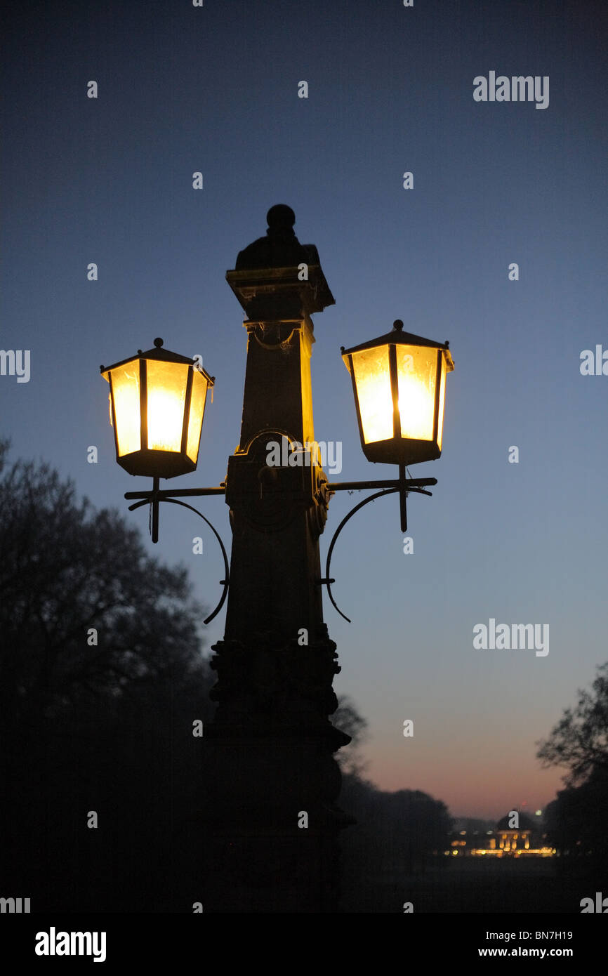 Lampen Bremen Street Lamp In Buergerpark Bremen Germany Stock Photo 30285173