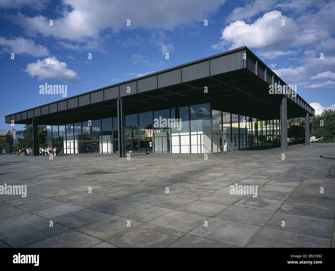 Mies Van Der Rohe Berlin Mies Van Der Rohe High Resolution Stock Photography And Images - Alamy