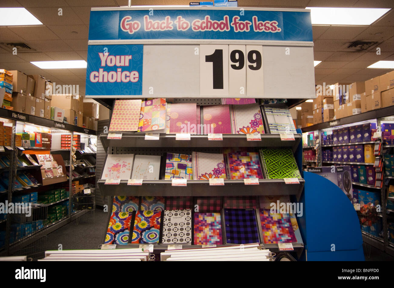 Office Stores Back To School Supplies Are Seen In A Staples Office Supply Store