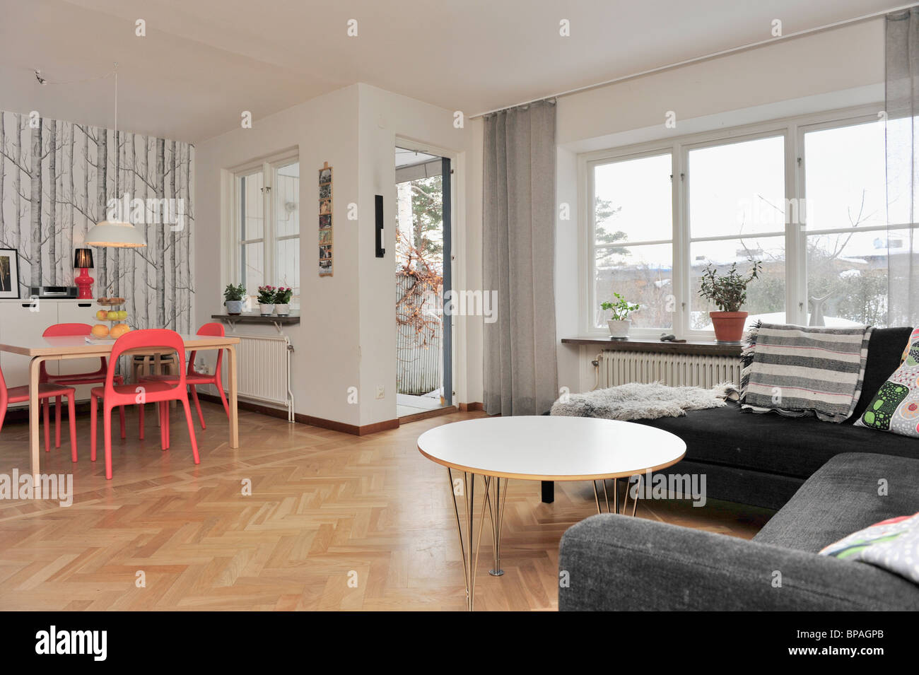 Swedish Living Room Swedish Living Room Stock Photos Swedish Living Room Stock