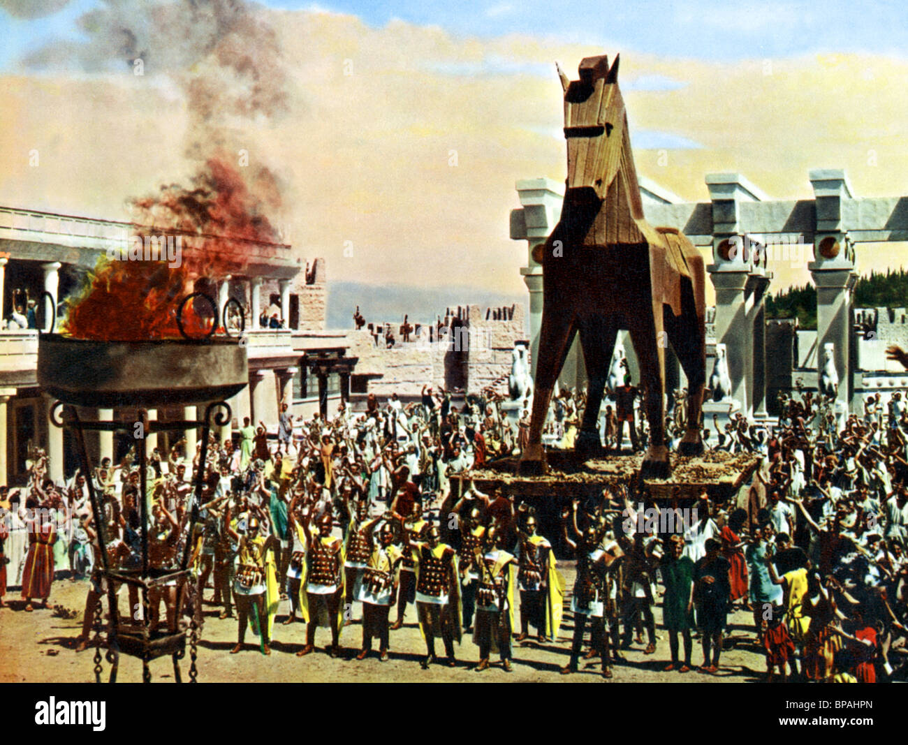 The Fall Of Troy Wallpaper Trojan Horse The Wooden Horse Of Troy The Trojan Horse