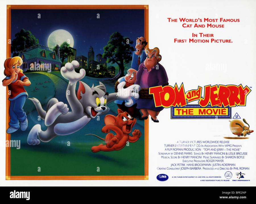 TOM THE CAT \u0026 JERRY THE MOUSE TOM \u0026 JERRY : THE MOVIE (1992)