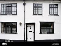 White walls and black window frames on Fishpool Street, St ...