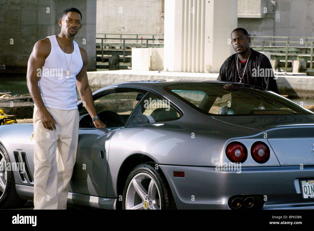 Rollschrank Bad Will Smith And Martin Lawrence Bad Boys Ii 2003 Stock Photo