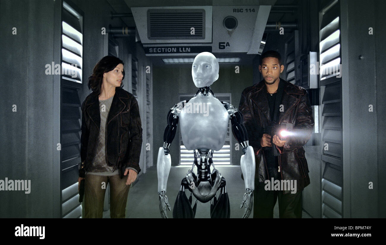 I Robot Will Smith As Del Spooner Film Title I Robot Stock Photos Will