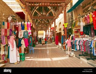 Bur Dubai Souq, Al Souq Al Kabeer, Dubai, United Arab Emirates Stock Photo, Royalty Free Image ...
