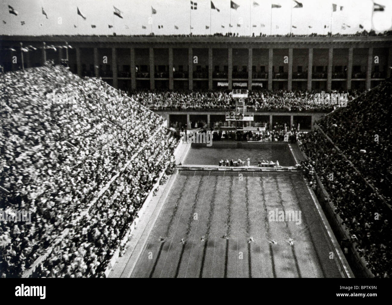 Swimmingpool Berlin Berlin Olympics Swimming Pool Berlin Olympics 1936 1936 Stock