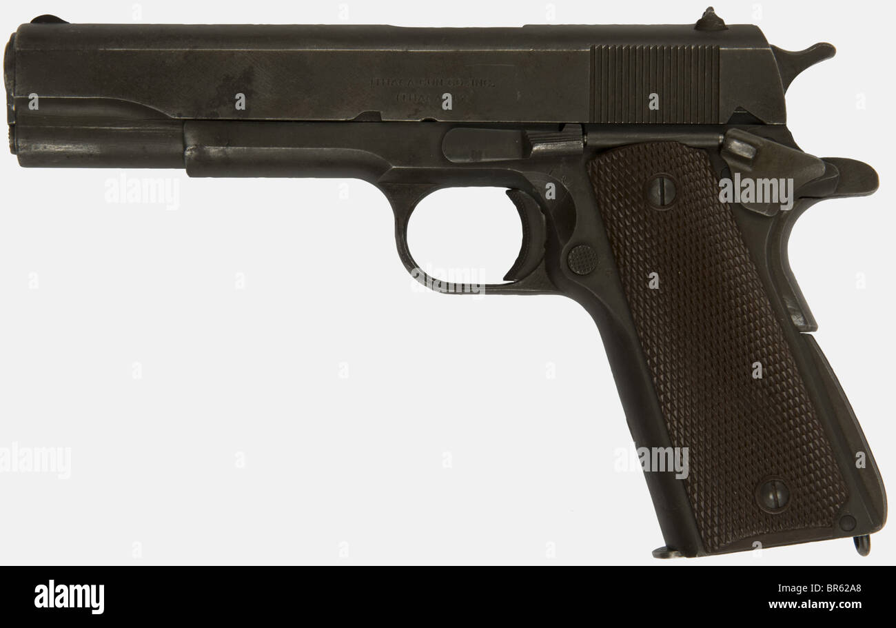 Calibre 45 Colt 45 Gun Stock Photos And Colt 45 Gun Stock Images Alamy