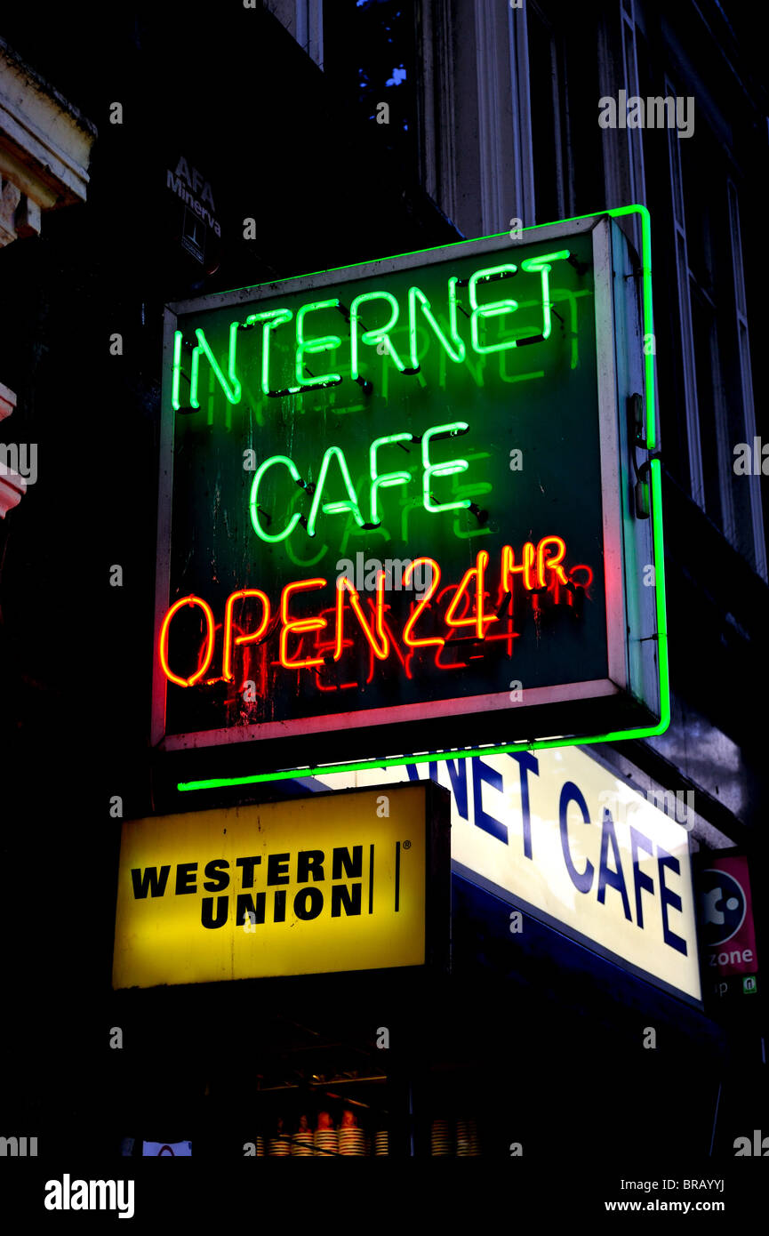 24 Internet Internet Cafe Signs Stock Photos Internet Cafe Signs Stock