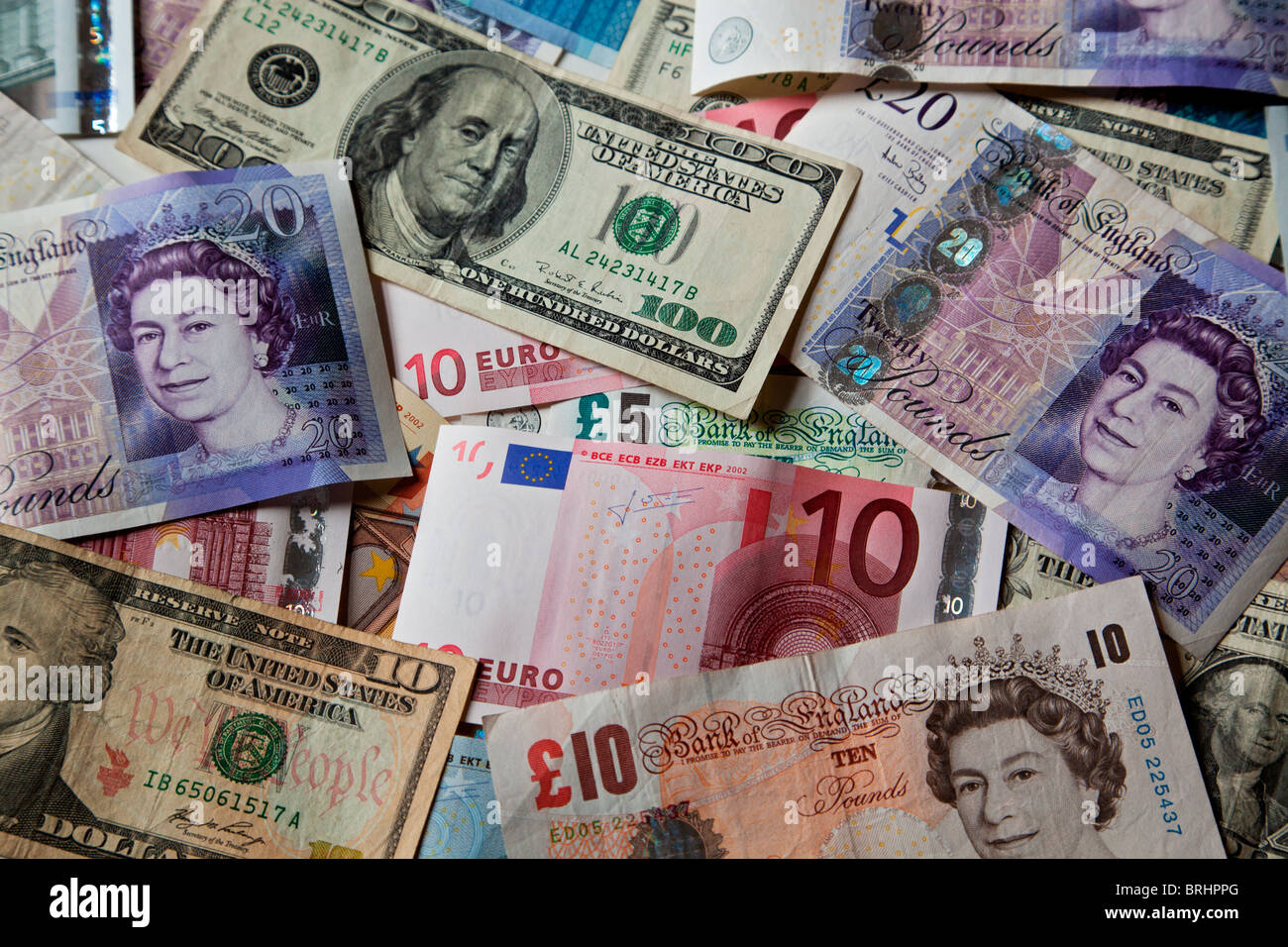 1 Libra Euros Currencies Notes Stock Photos Currencies Notes Stock Images Alamy