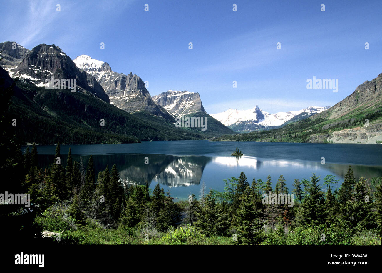 Quanto Costa Rifare Un Bagno Di 5mq St Mary Lake Montana Royalty Free Stock Photography