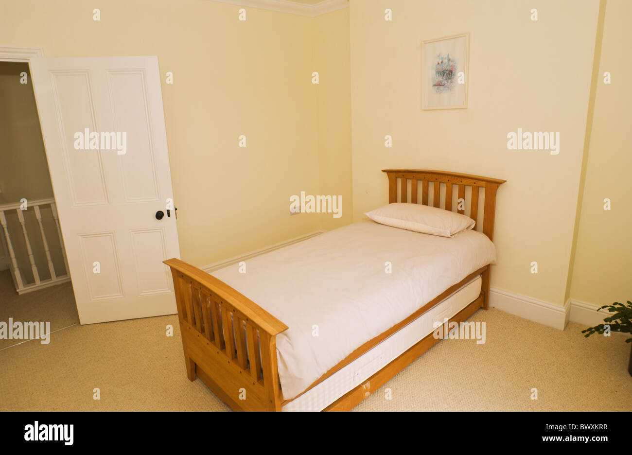 House Bed Frame Uk Bedroom With Single Bed Of Renovated Edwardian Detached House In