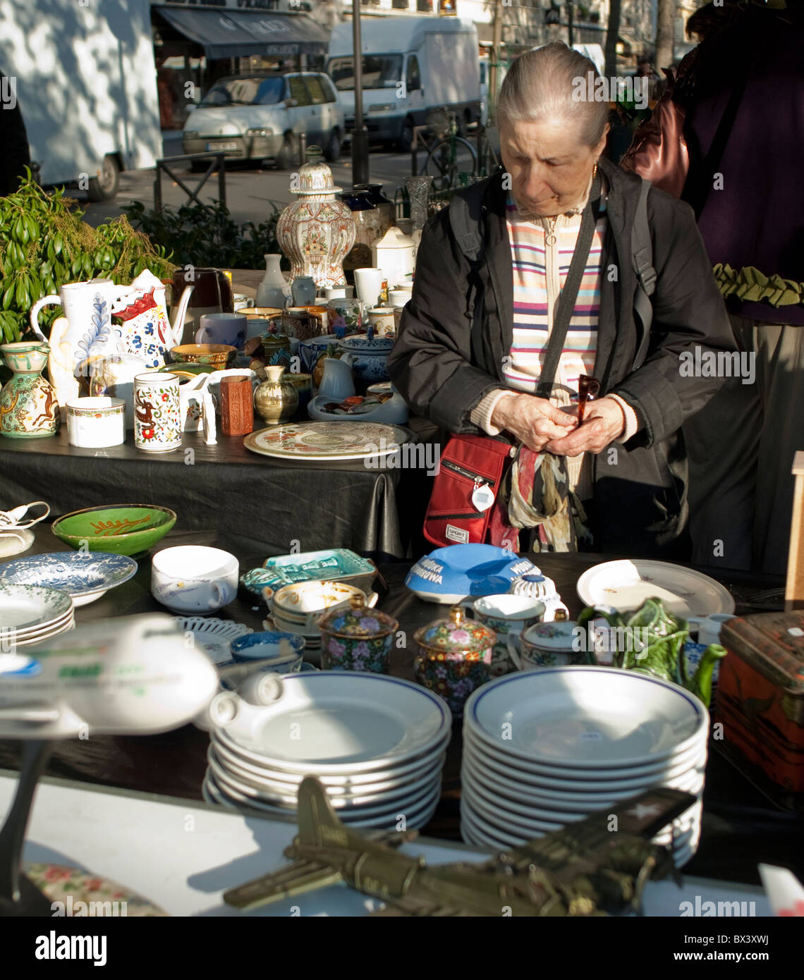 Brocante Cours De Vincennes France Vincennes Street Stock Photos France Vincennes Street
