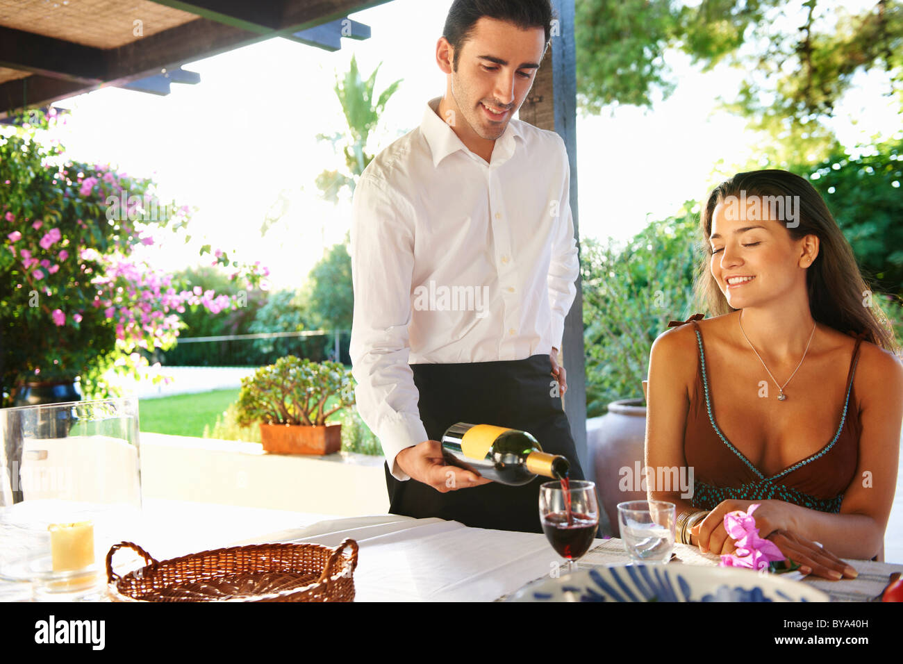 Lady Waiter Stock Photos Lady Waiter Stock Images Alamy