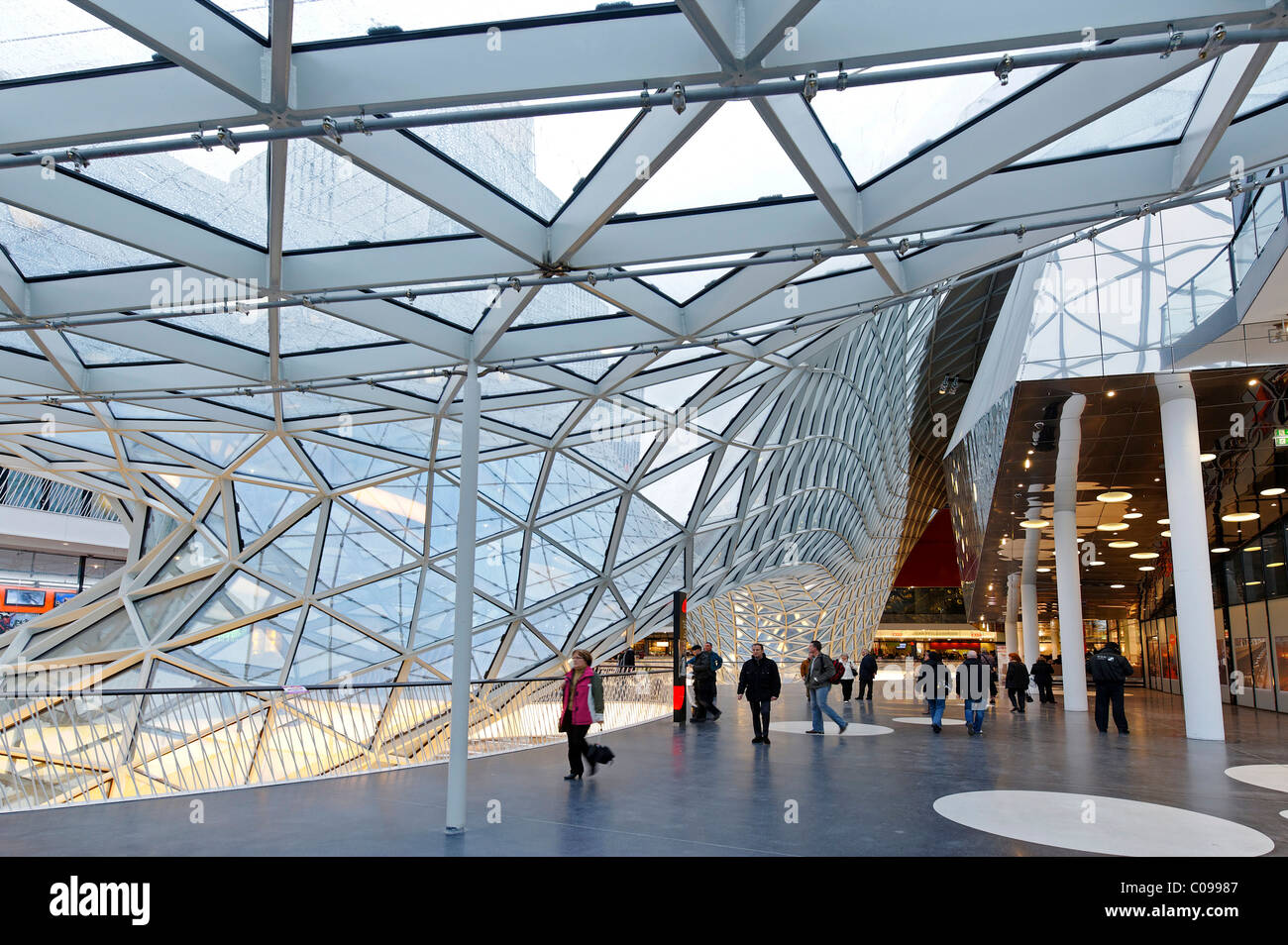 Architekt Frankfurt Myzeil Shopping Mall Palais Quartier Architect