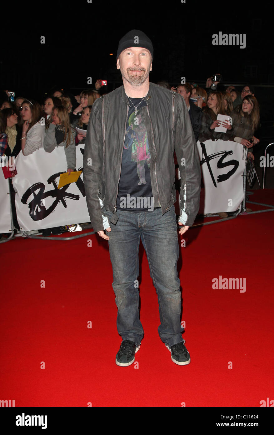 Carpet U2 The Edge Of U2 The 2009 Brit Awards Red Carpet Arrivals Held At