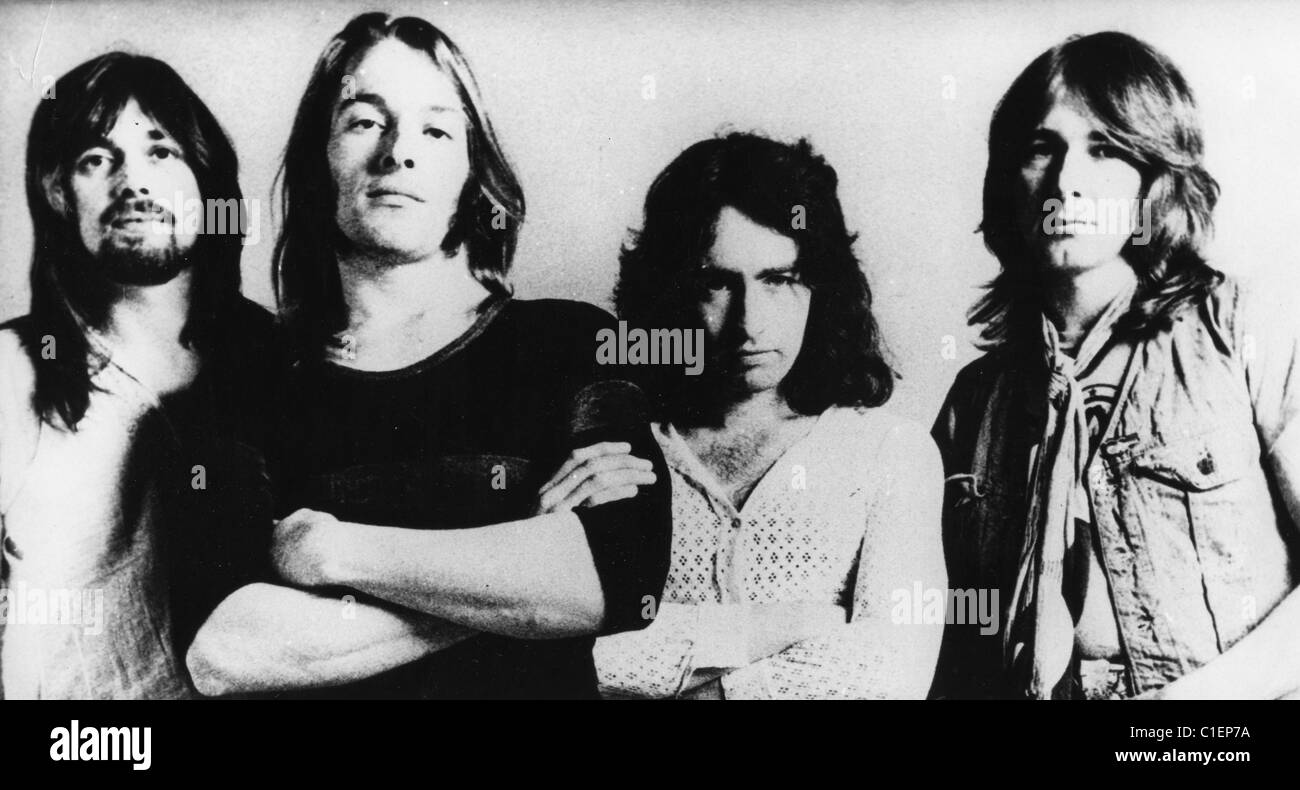 Vintage Bad Company Bad Company Promotional Photo Of Uk Rock Group From Left