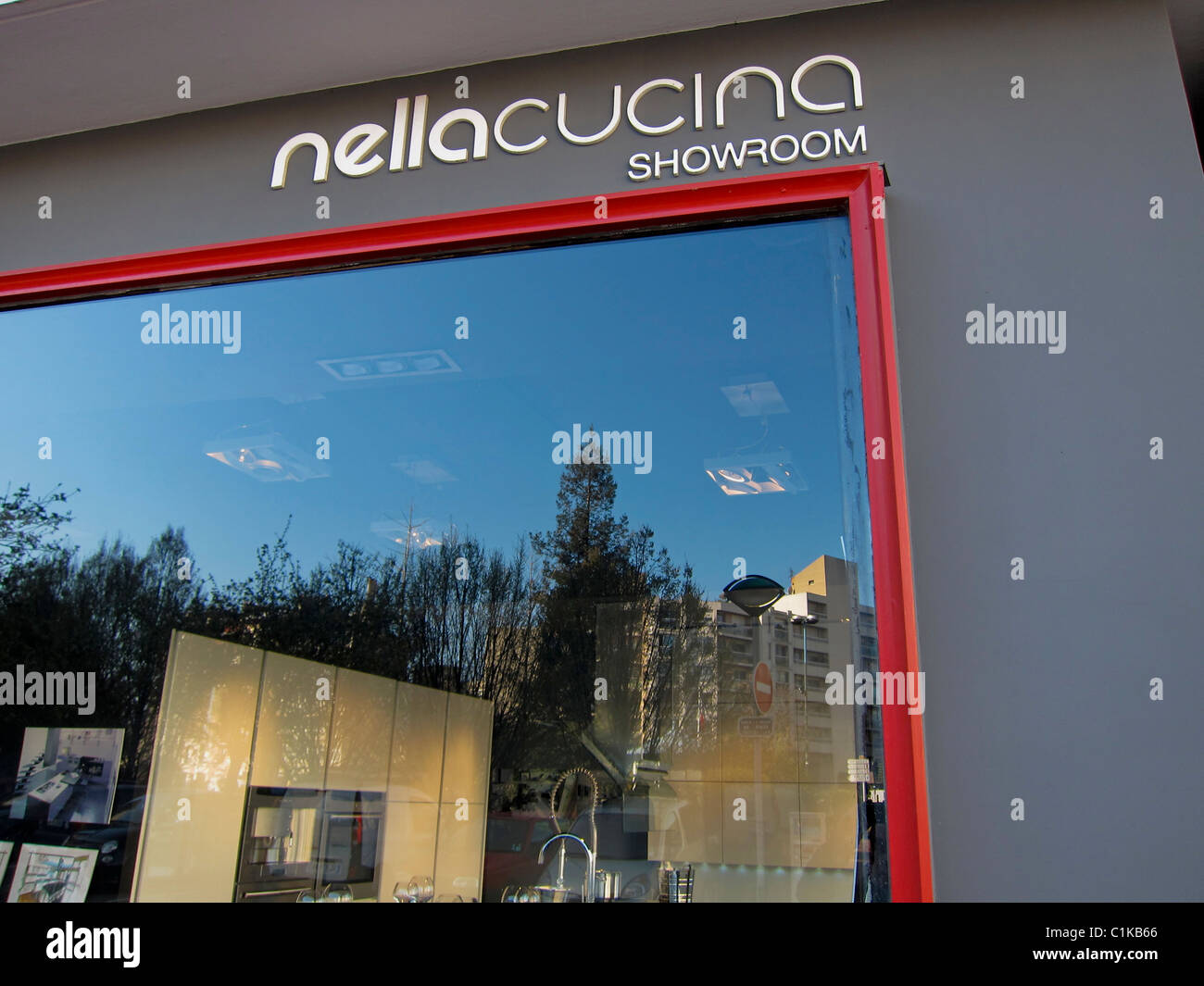 Cucina Kitchen Sign Paris France Modern Kitchen Design Store Window Sign
