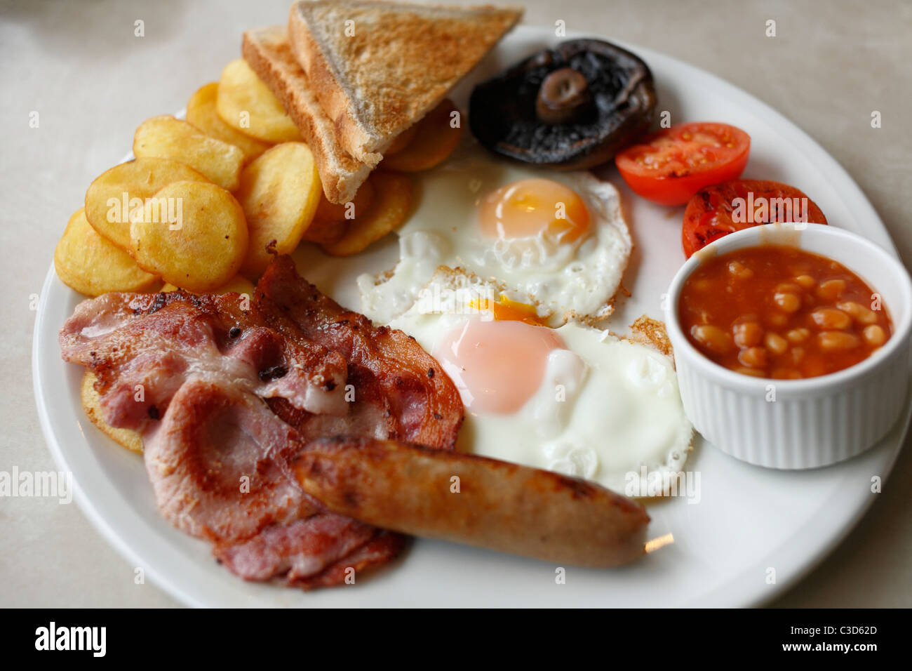 Breakfast All Day A Little Chef Olympic All Day Breakfast Stock Photo 36554853 Alamy