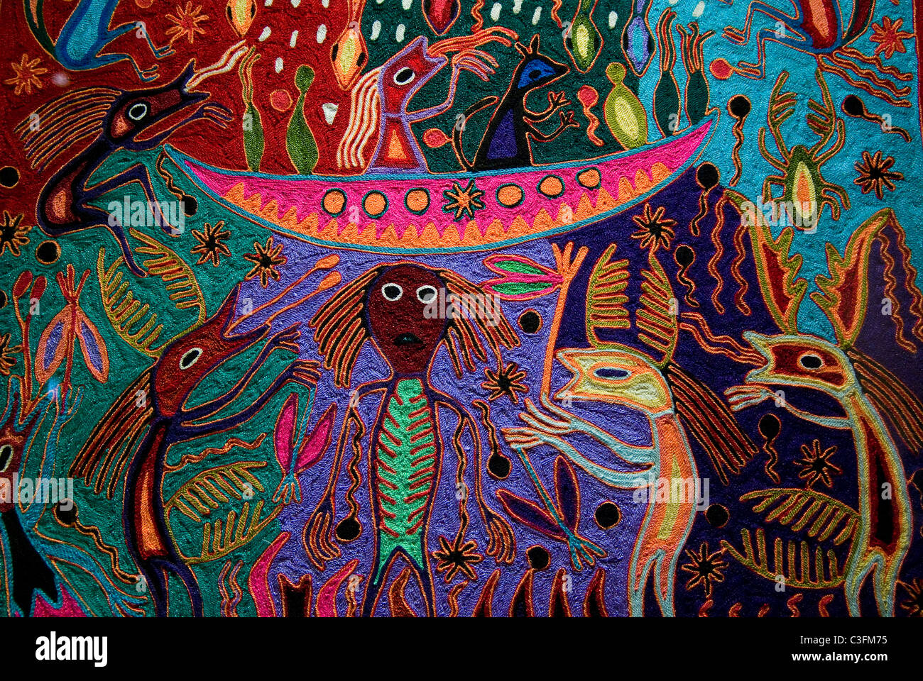 Arte Huichol For Sale Huichol Stock Photos Huichol Stock Images Alamy
