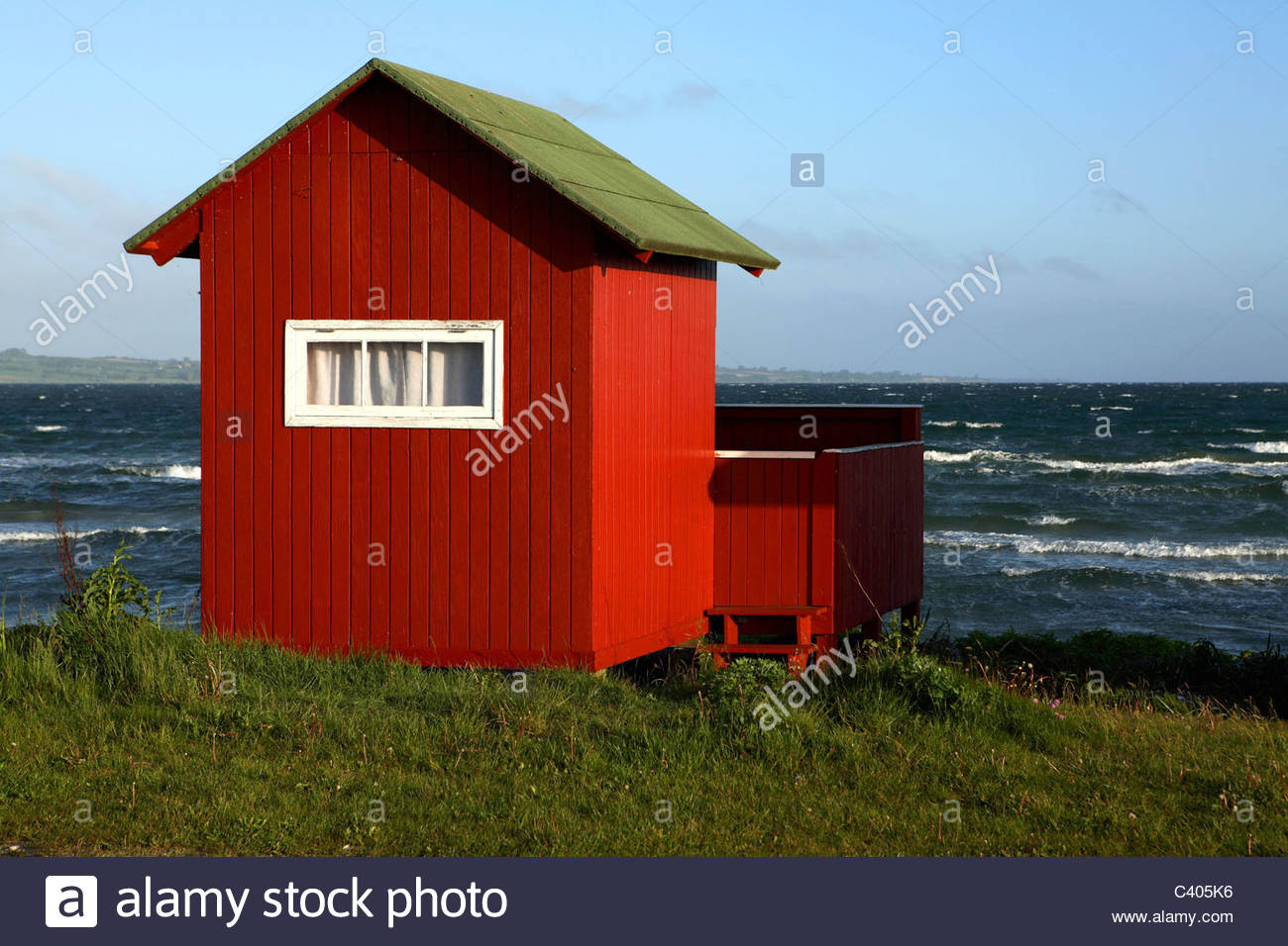 Aero Dänemark Danemark Aero Island Beach Hut Stock Photo 36883818 Alamy