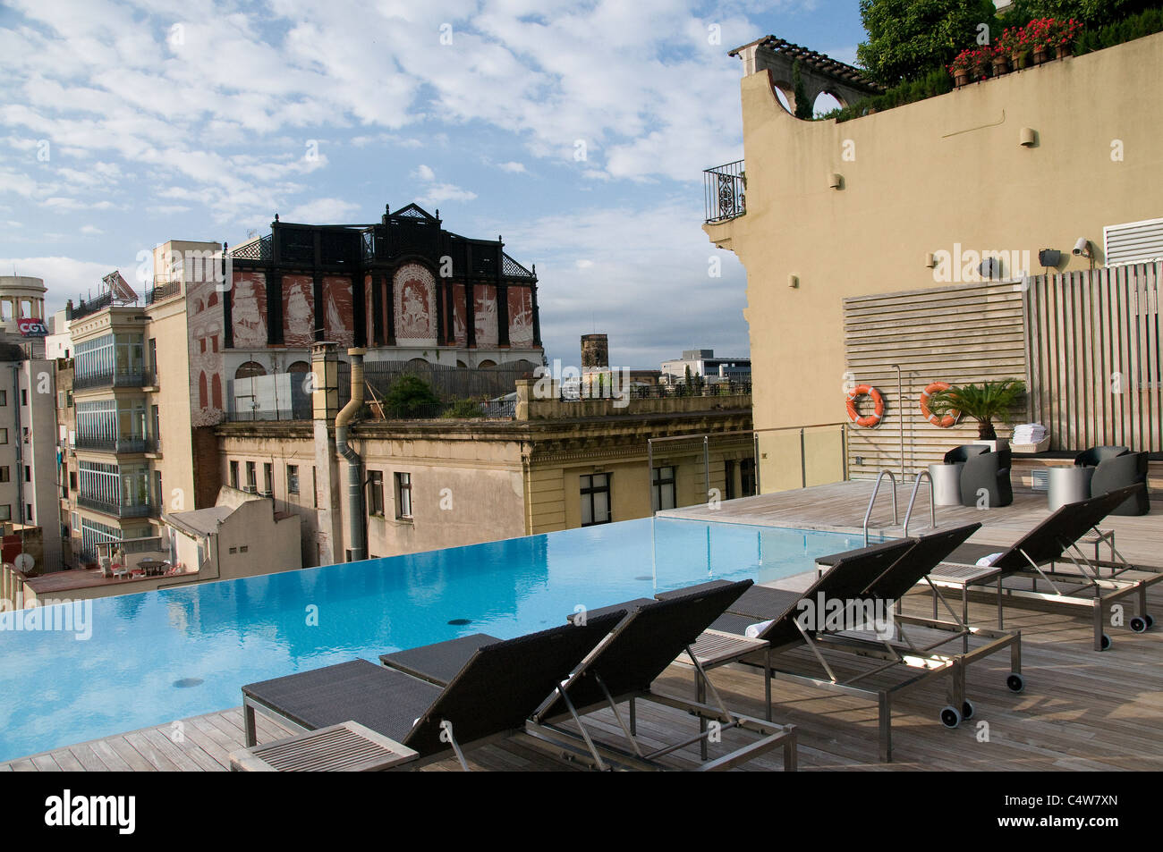 Grand Hotel Central Barcelona Located In The Heart Of Barcelona, The Grand Hotel Central Offers A Stock Photo - Alamy