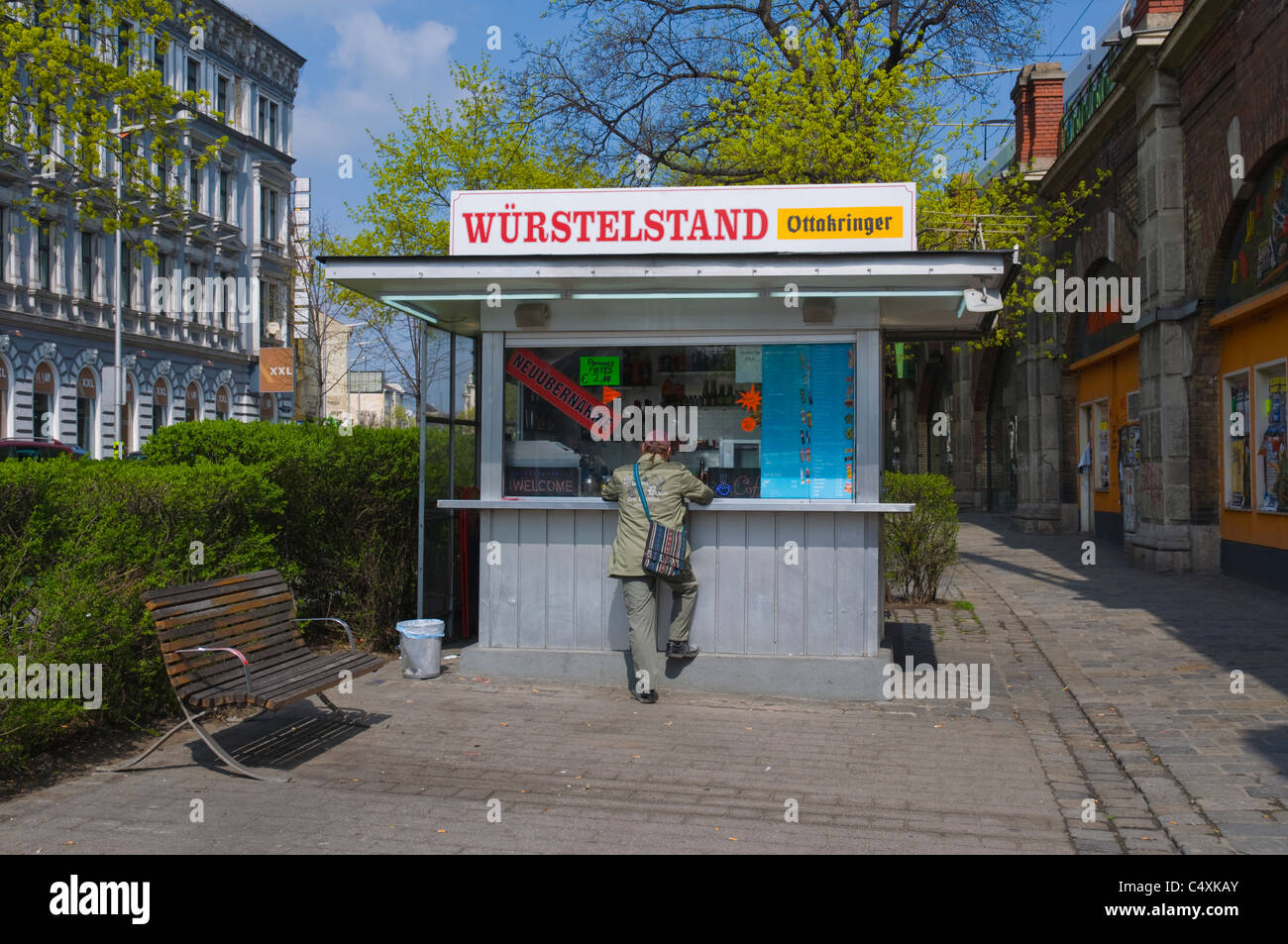 Sausage Stand Vienna High Resolution Stock Photography And Images Alamy