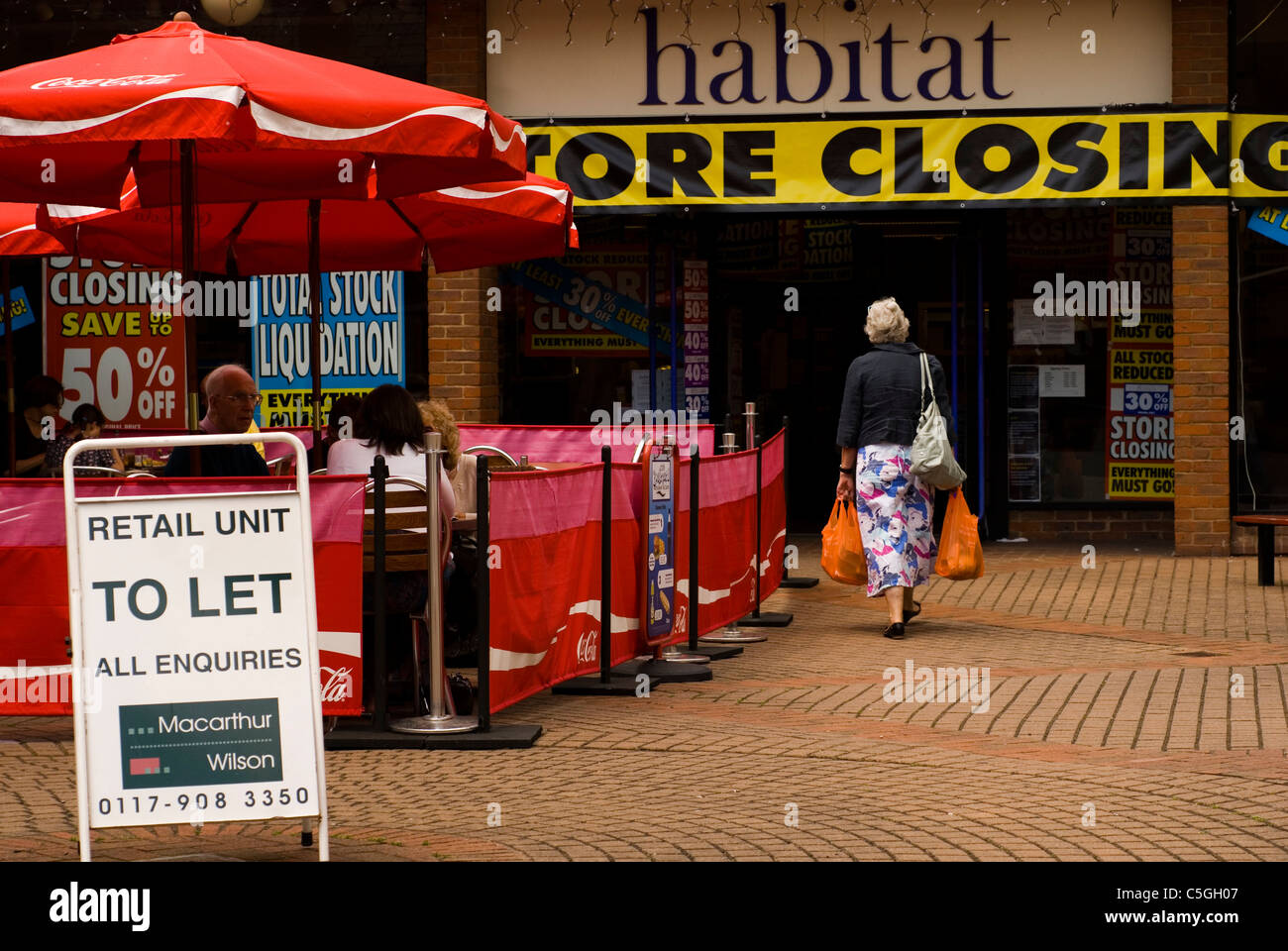 Habitat Outlet Hamburg Let It Come Down Stock Photos Let It Come Down Stock Images Alamy