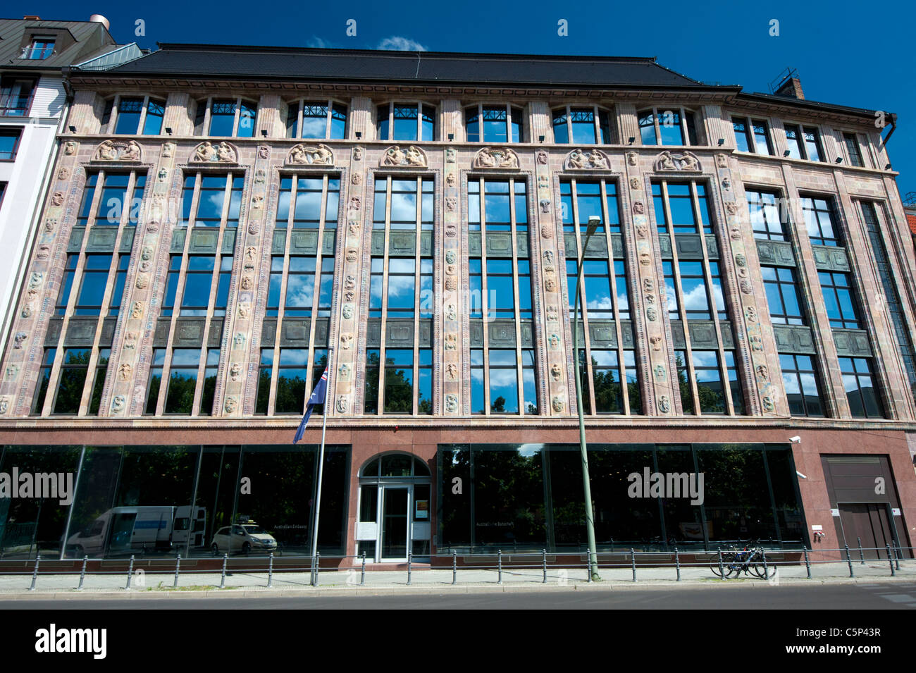 Australian Embassy Exterior Of Australian Embassy In Berlin Germany Stock Photo