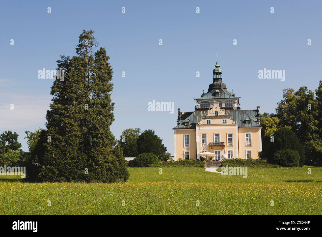 Villa Toscana Austria Gmunden Villa Toscana Congress Hall Stock Photo