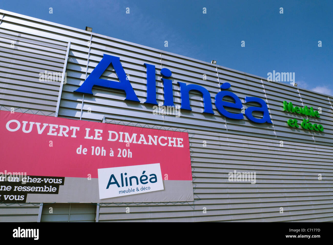 Alinea Caen French Diy Store Stock Photos French Diy Store Stock Images Alamy